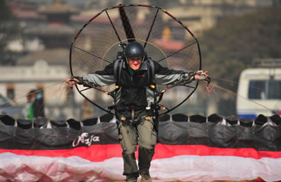 Paramotors with Avia Club Nepal